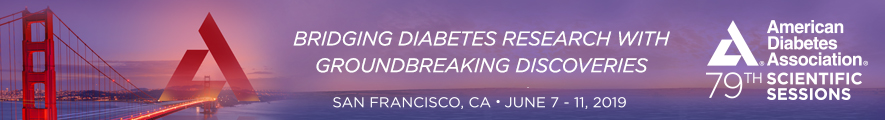 ADA 2019 – American Diabetes Association – 79th Scientific Sessions